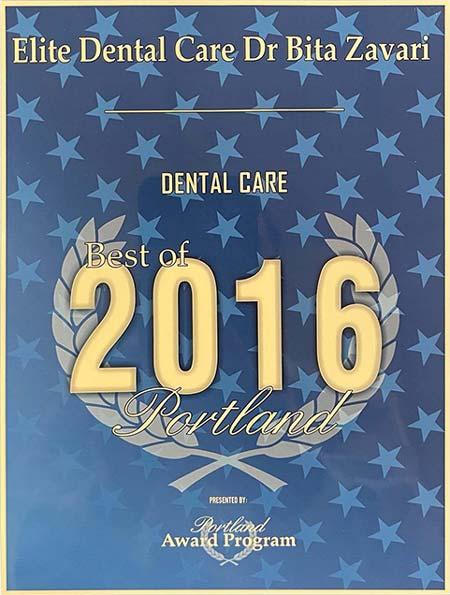 best dental care Portland 2016