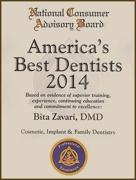 America's best dentists 2014 - National Consumer Advisory Board