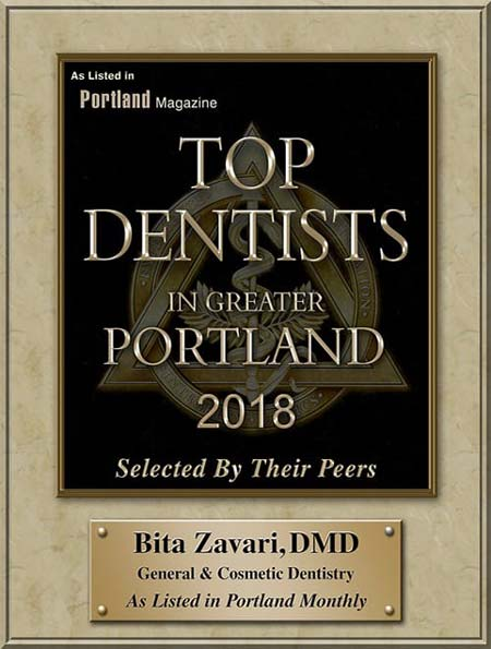 top dentist greater beaverton 2018 by Portland Monthly Magazine